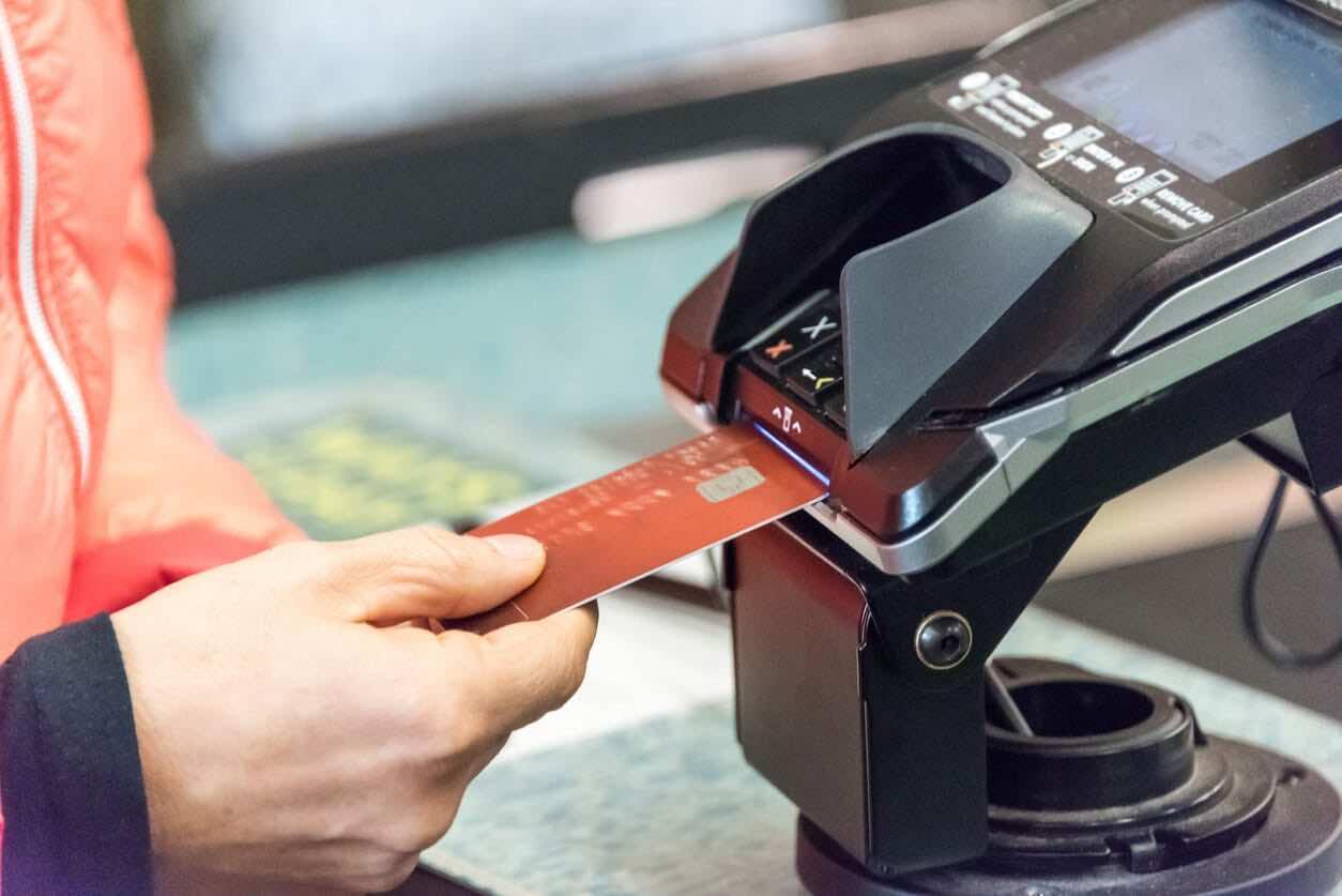 Internet Powered Credit Card Machine